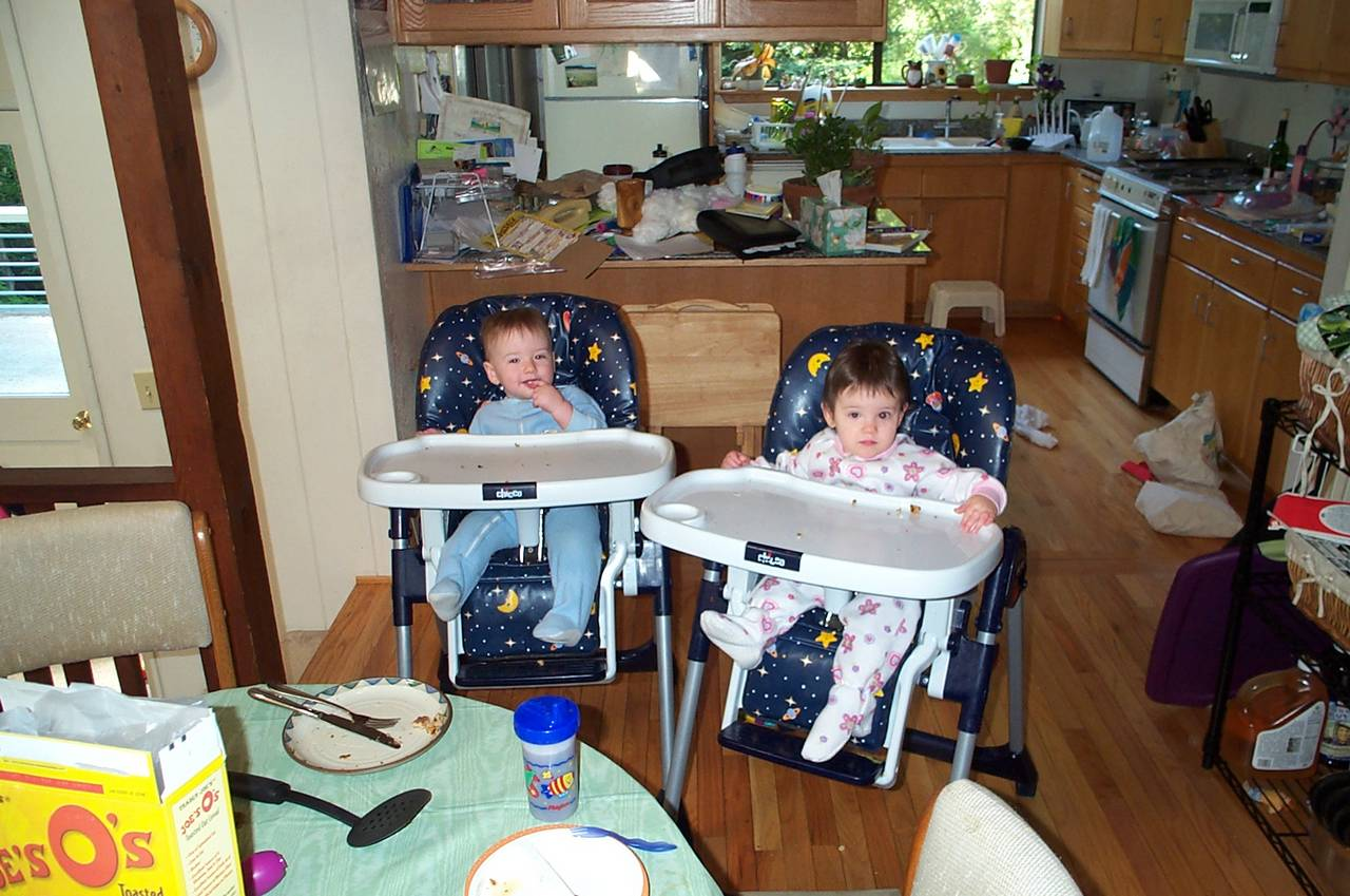 Two Highchairs Are Also For Sale! Chicco High Chairs, Adjustable Height,  Reclining Seat, Wheels (with Brakes), Vinyl Seat Covers  Navy With Moon And  Stars ...
